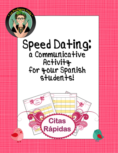 Language Resources: Spanish Communicative Activity, Speed Dating