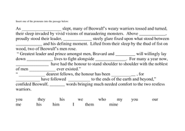 beowulf description