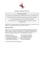Assessment:  World War II