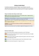 An incident essay
