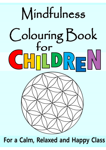 mindfulness for children calming behaviour management meditation 2x mp3 audio 40 page book by thefutureteacherfoundation teaching resources tes - Colouring Books For Children