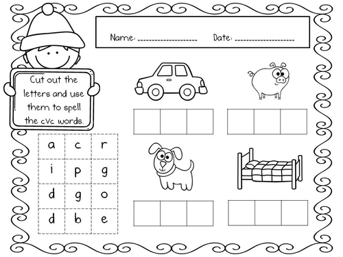 Winter Maths and Literacy Printables by MMckenna85