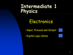 Intermediate 1 Physics Movement, Electricity Assesments, Homeworks and  Summary Notes