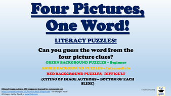 Four Pictures, One Word!