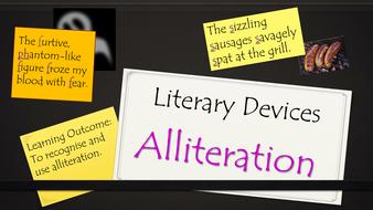 Figurative Speech Alliteration Presentation By Krazikas Teaching