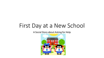 Social Stories for First Day of School