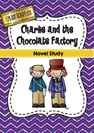 Charlie and the Chocolate Factory Book Study by HollyRachel ...
