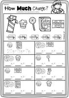 money uk coins worksheets posters by okinawangirl uk teaching resources tes. Black Bedroom Furniture Sets. Home Design Ideas