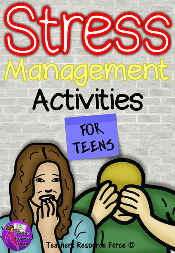 Stress Management: PowerPoint and Activities by ...