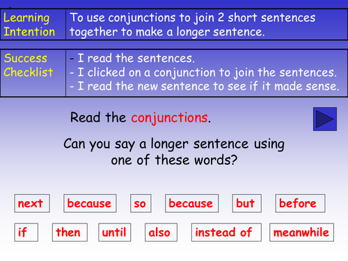 Conjunctions (Connectives) PowerPoint by barang - Teaching ...