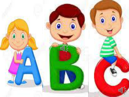LEARNING OF ALPHABETS