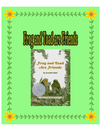 Frog and Toad are Friends - A Comprehensive Literacy Unit