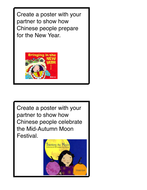 Grace Lin Author Study - Celebrating the Chinese Culture - Task Cards
