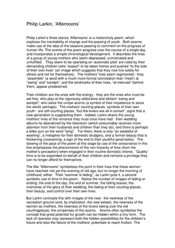 Writing A Critical Lens Essay Steps To Follow Homework Help  Critical Essays On Philip Larkin Lets Rock On Page Proposal For An Essay also Thesis Statement For An Essay  Example Of A College Essay Paper