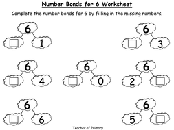 Number Bonds - The Story of 6 - Animated PowerPoint Presentation and ...