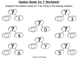 Number bonds the story of 7 animated powerpoint presentation and number bonds the story of 7 ibookread PDF