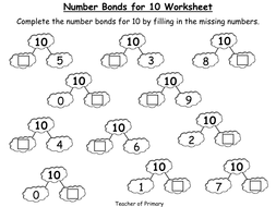 Number Bonds - The Story of 10 - PowerPoint presentation and ...