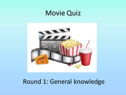 5 round movie quiz (tutor / cover supervisor)
