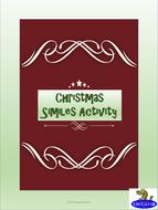 Christmas Similes Activity