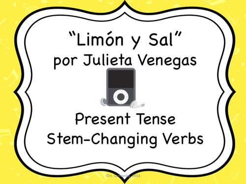 Language Resources: Limón y Sal + Present Tense Stem-Changing Verbs