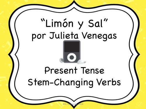 Language Resources: Limón y Sal + Present Tense Stem-Changing Verbs