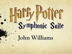 Harry Potter Music - Exploring the Orchestra and Musical terminology