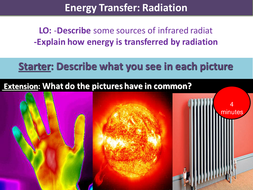 Energy Transfer Radiation by OuttheBoxScience - Teaching Resources - Tes