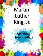 Martin Luther King Jr. Activities - Intermediate