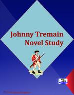 Johnny Tremain Novel Study