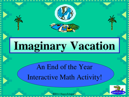 End of the Year Math Activity PowerPoint