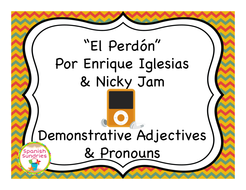 el perdón demonstrative adjectives and pronouns by sombra1230
