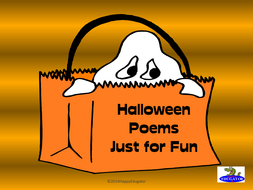 Halloween Poems and Halloween Poetry Writing Activities