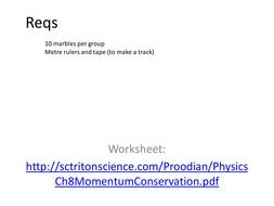 Conservation Of Momentum Worksheet Worksheets For School ...
