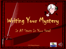 Mystery Writing PowerPoint