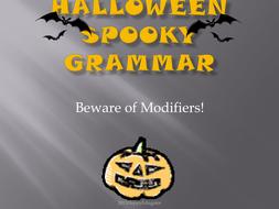 Halloween Spooky Grammar PowerPoint