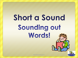 Short a Sound - Sounding Out Words PowerPoint