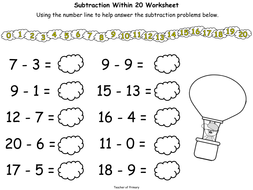 Up Up And Take Away Subtracting Numbers To  By   Upupandtakeawaysubtractingnumbers