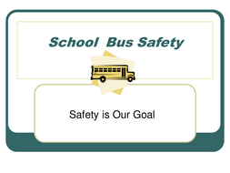 Beginning of the Year School Bus Safety PowerPoint