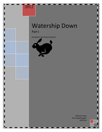 Watership Down Part I Vocabulary and Study Questions