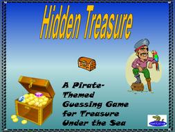 Pirates Hidden Treasure Game