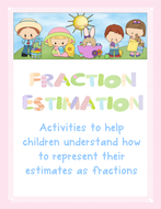 Fractions Estimation Activities
