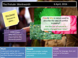 The Prelude- Wordsworth