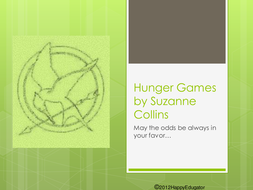 The Hunger Games Book Preview PowerPoint