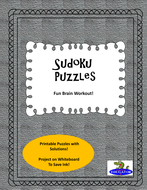 Sudoku Puzzles - Critical Thinking