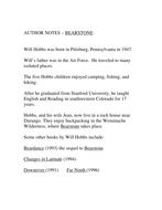 Beardance by will hobbs, novel study complete | novels, school.