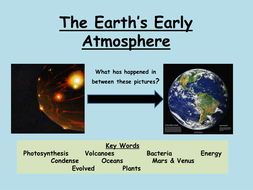 AQA C1 Changes in the atmosphere | Teaching Resources