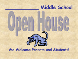 Back to School Welcome to Reading Class PowerPoint EDITABLE