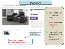 Hire Purchase Examples