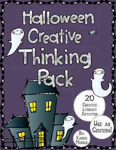 Halloween Resources: Creative Thinking Pack