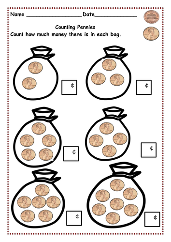 counting money up to 10 cents and then 20 cents pennies pennies nickels and then dimes by. Black Bedroom Furniture Sets. Home Design Ideas
